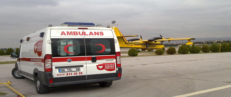 ankara özel ambulans